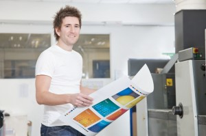A print machine minder